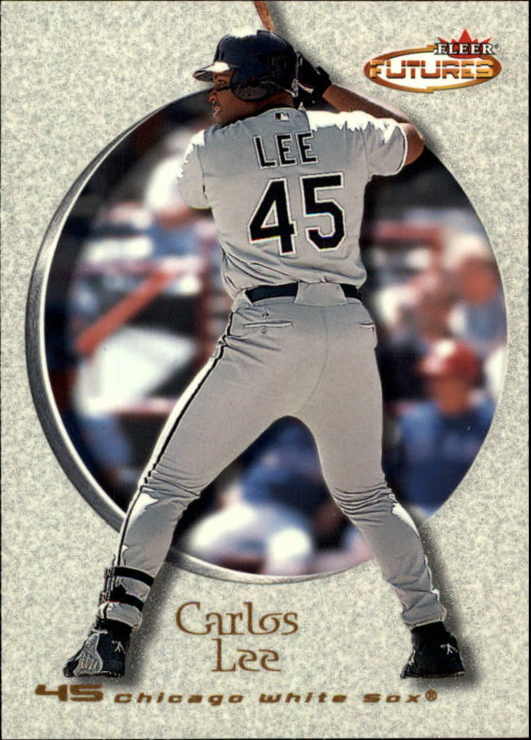 2001 Fleer Futures #38 Carlos Lee