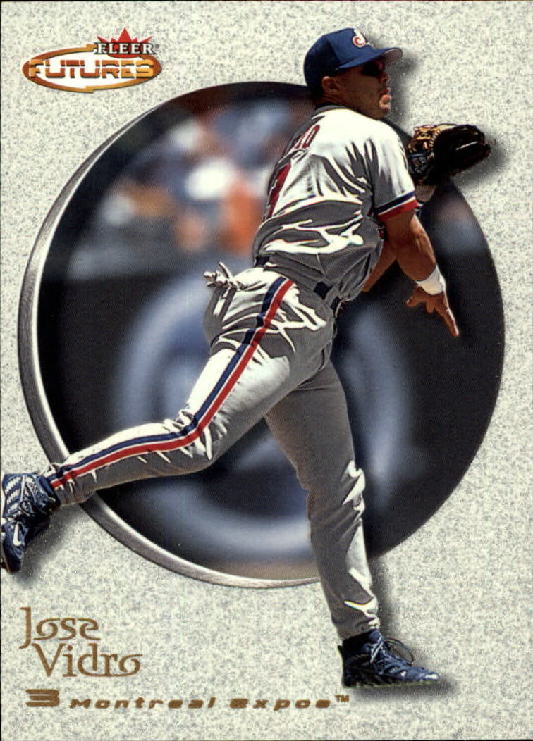 2001 Fleer Futures #67 Jose Vidro