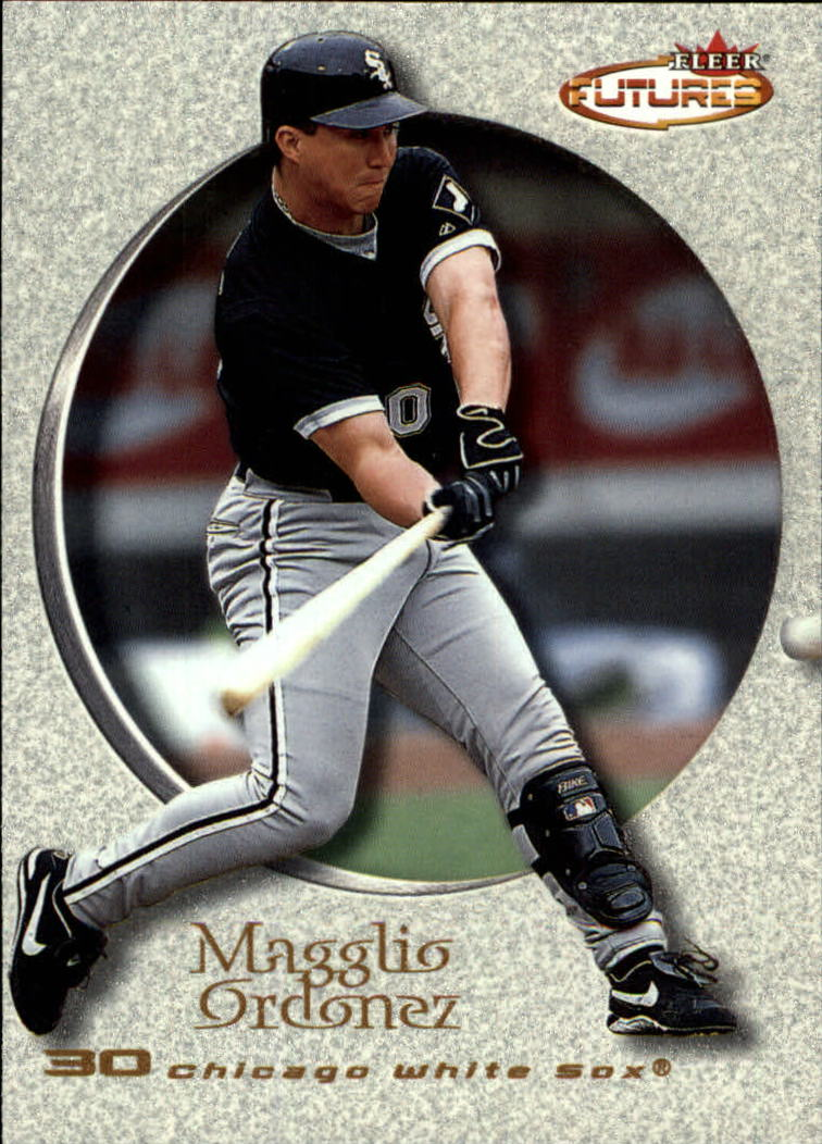 2001 Fleer Futures #74 Magglio Ordonez