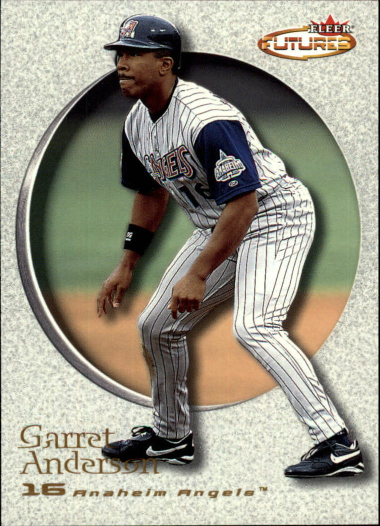 2001 Fleer Futures #88 Garret Anderson