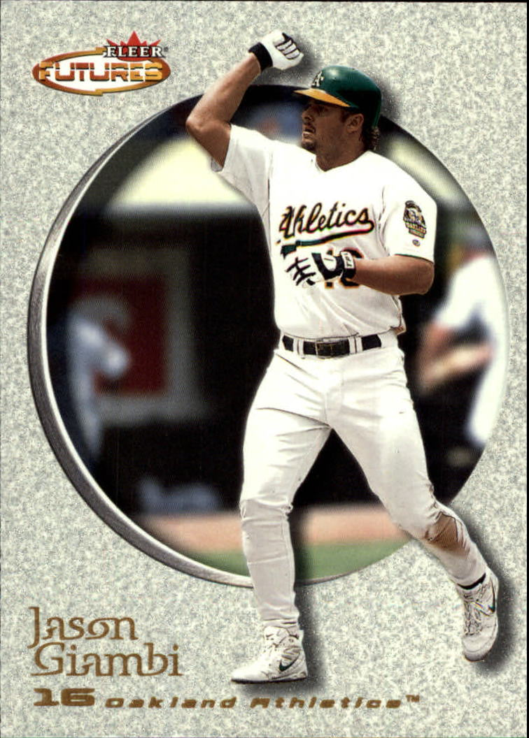 2001 Fleer Futures #100 Jason Giambi