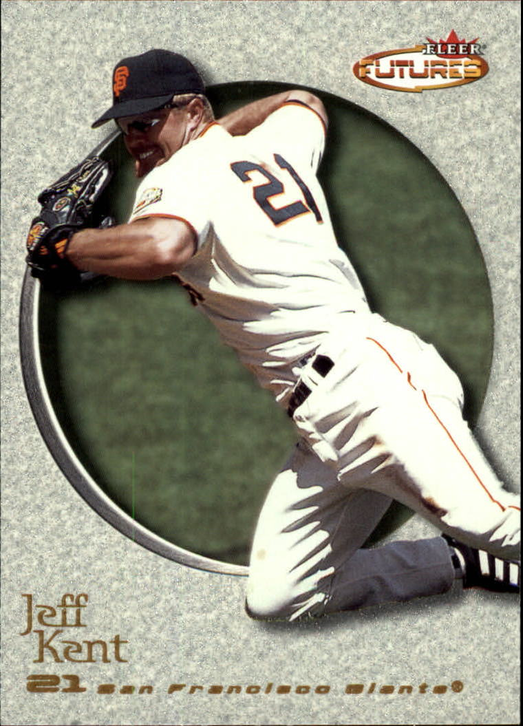 2001 Fleer Futures #111 Jeff Kent