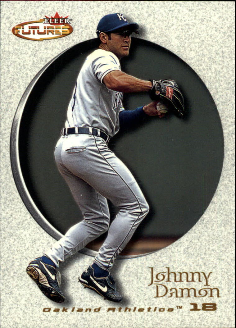 2001 Fleer Futures #119 Johnny Damon