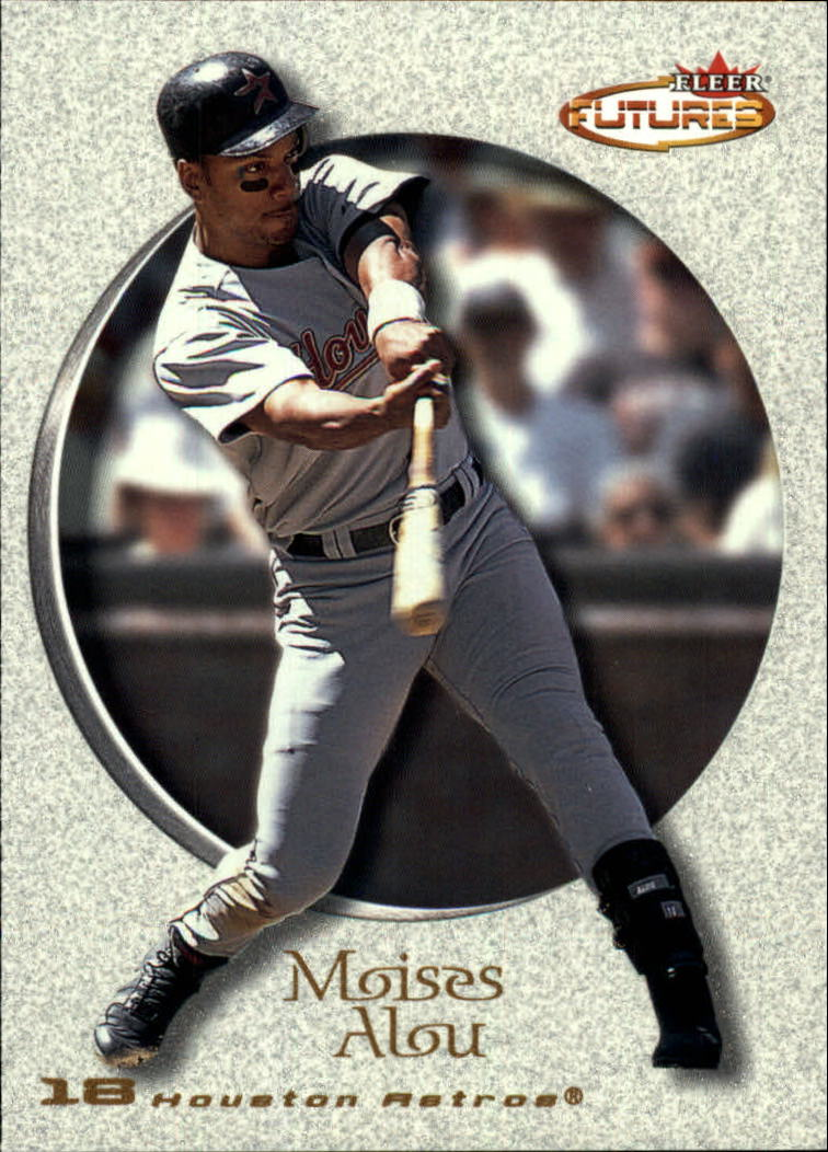 2001 Fleer Futures #125 Moises Alou