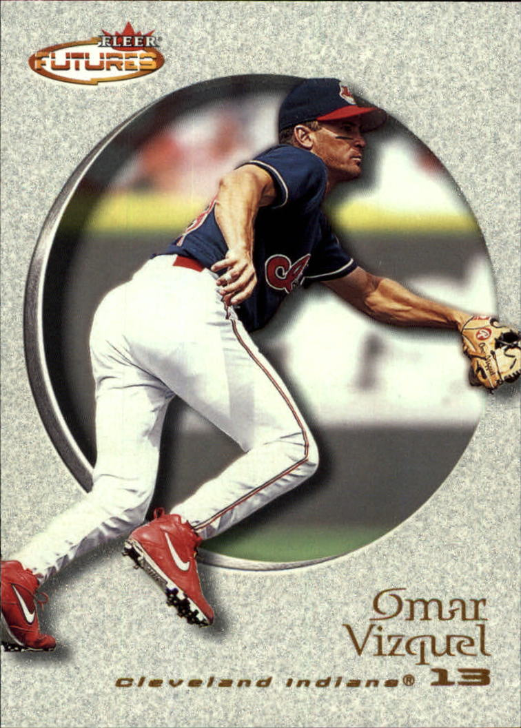 2001 Fleer Futures #127 Omar Vizquel