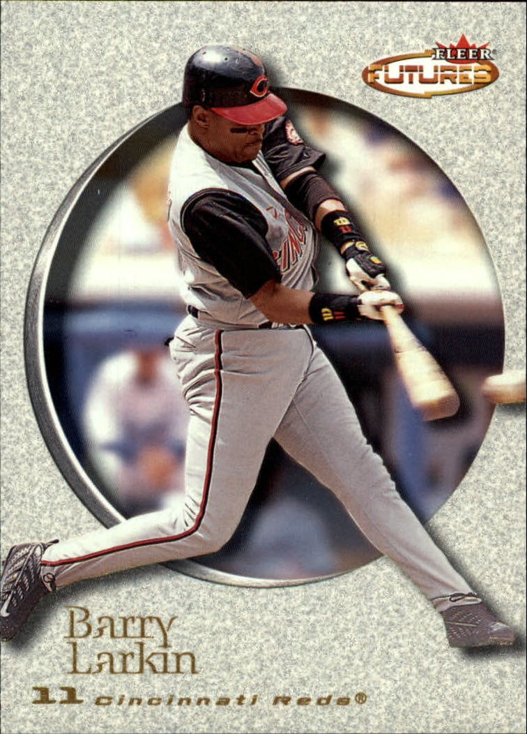 2001 Fleer Futures #145 Barry Larkin
