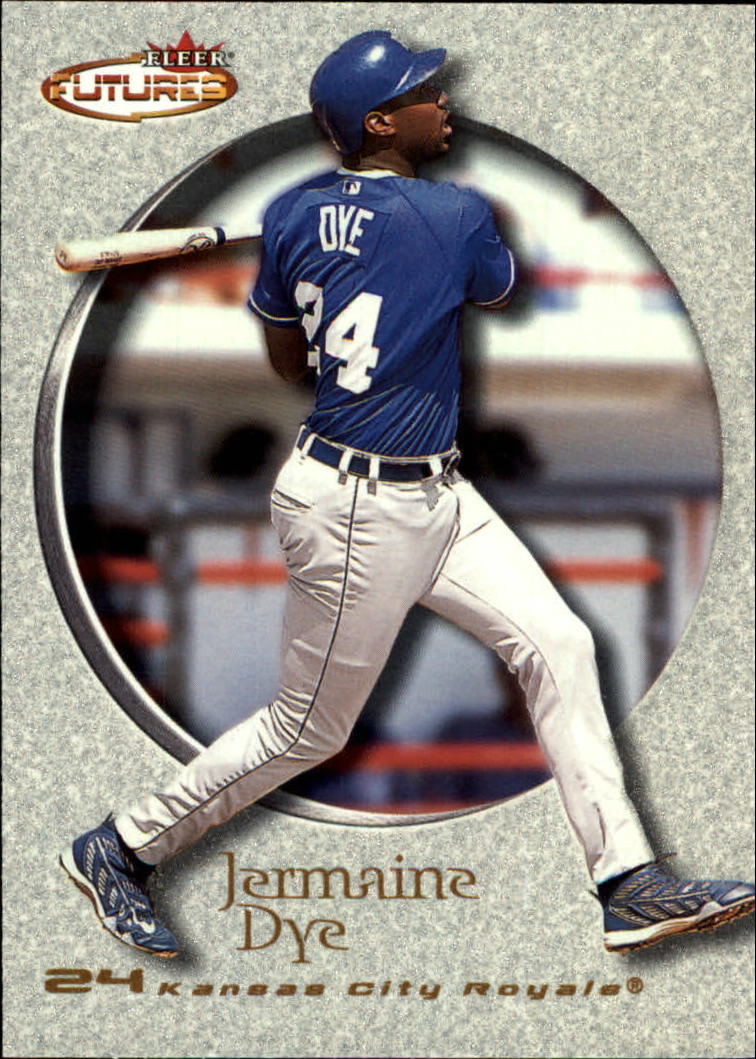 2001 Fleer Futures #148 Jermaine Dye