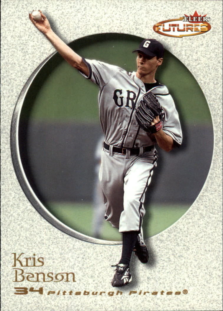 2001 Fleer Futures #149 Kris Benson