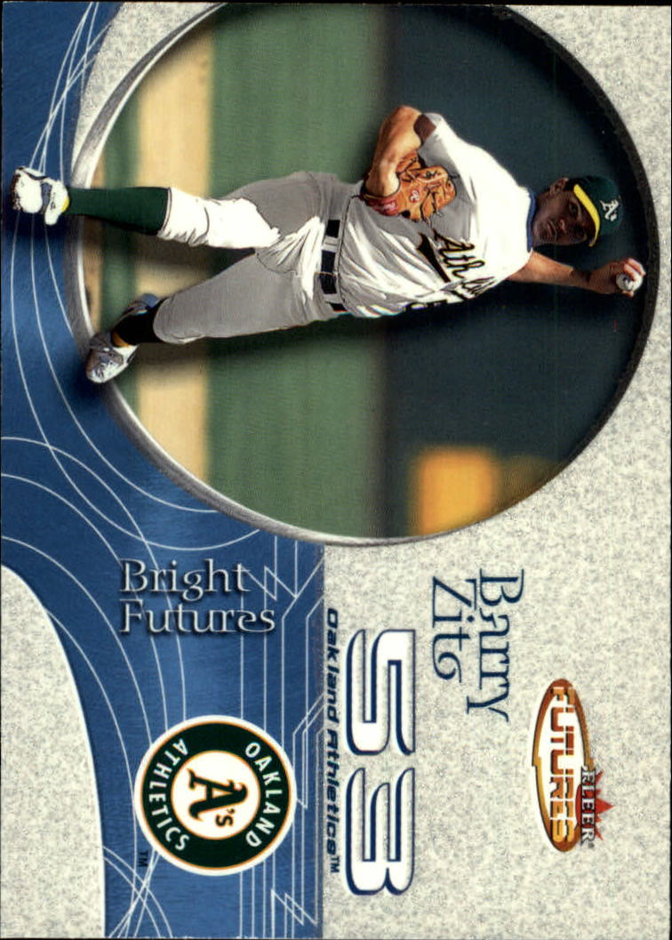 2001 Fleer Futures #189 Barry Zito BF