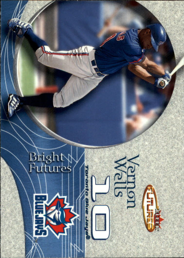 2001 Fleer Futures #198 Vernon Wells BF