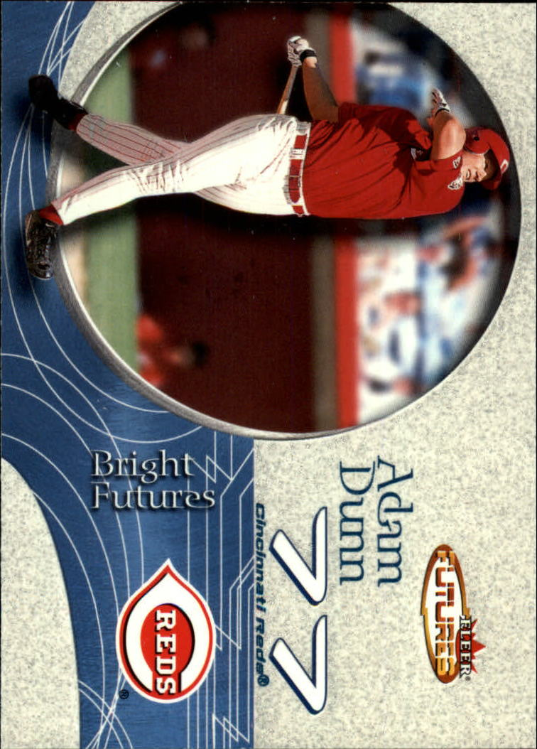 2001 Fleer Futures #211 Adam Dunn BF