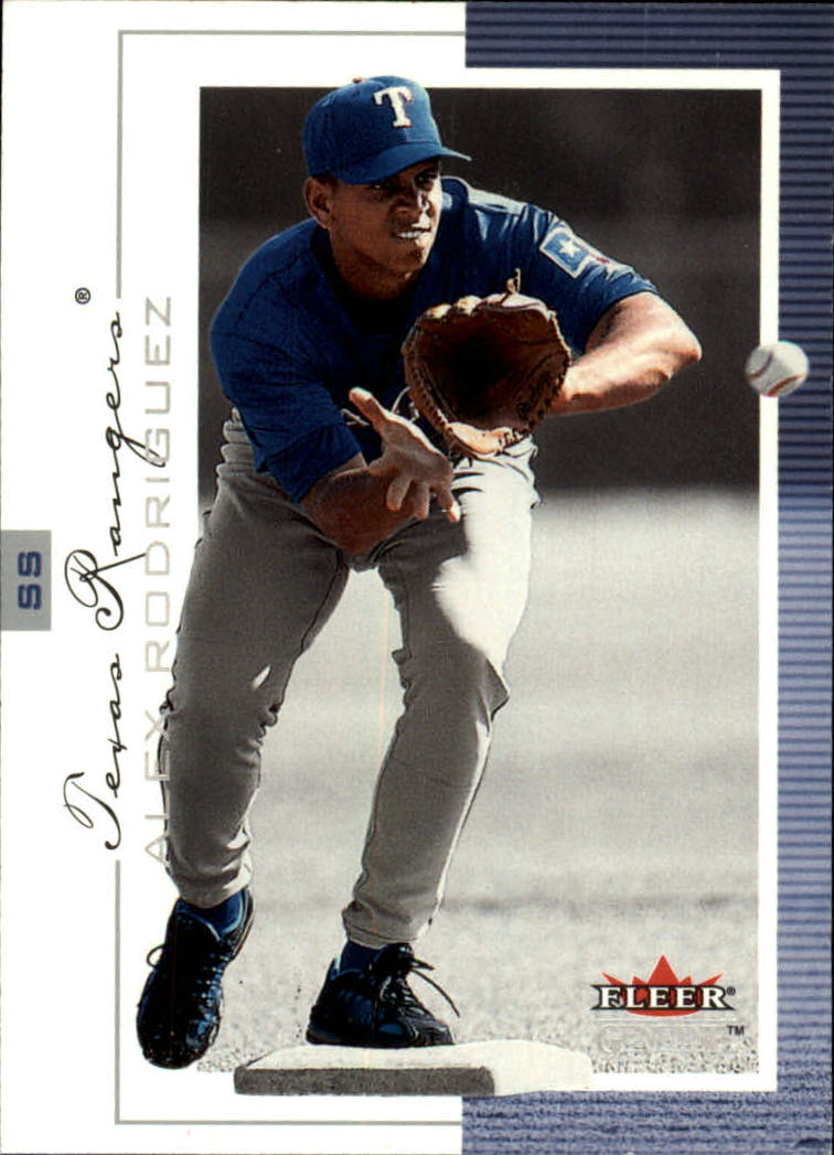 2001 Fleer Genuine #3 Alex Rodriguez