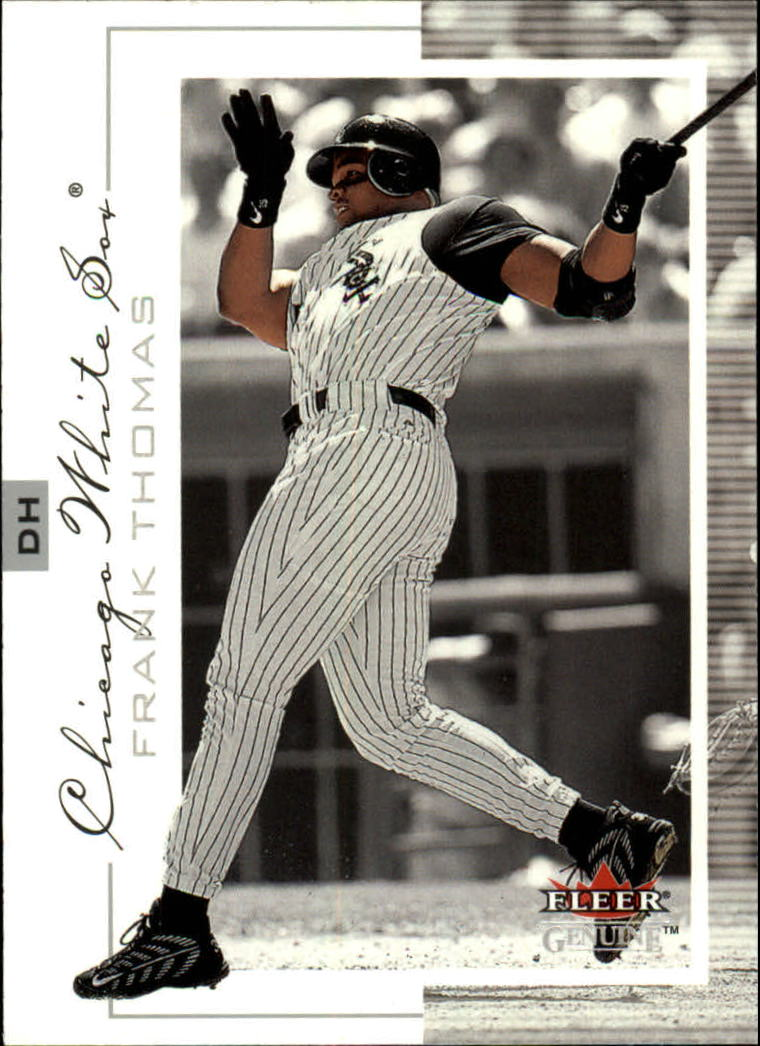 2001 Fleer Genuine #4 Frank Thomas