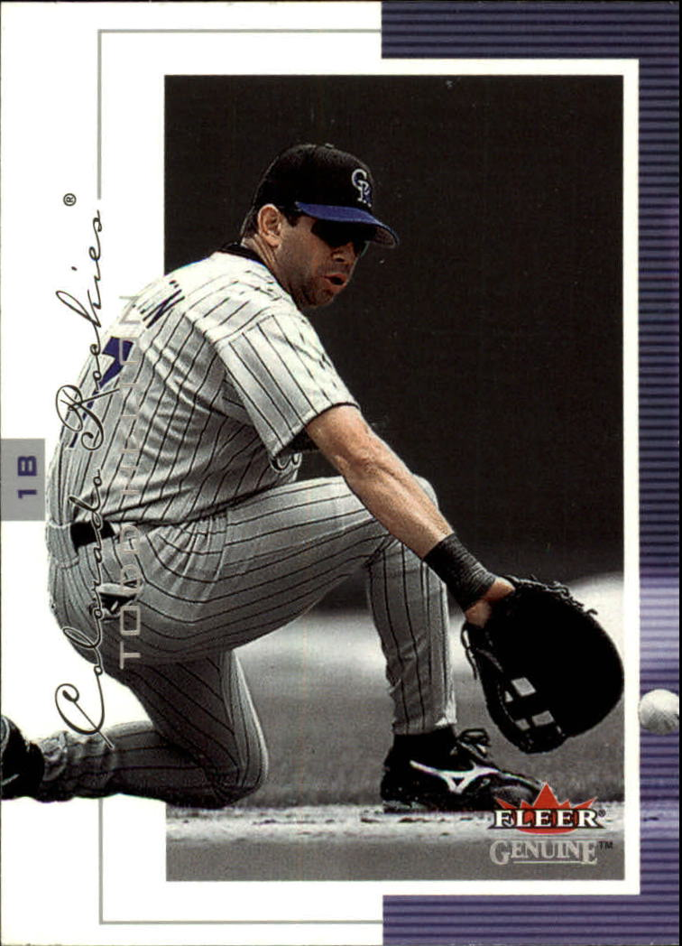 2001 Fleer Genuine #9 Todd Helton