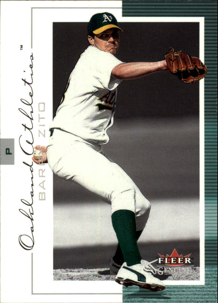 2001 Fleer Genuine #12 Barrry Zito