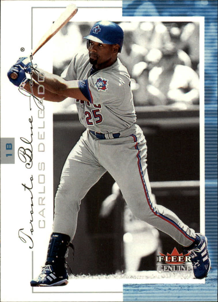 2001 Fleer Genuine #18 Carlos Delgado