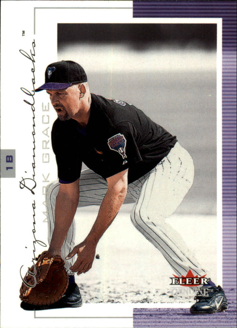 2001 Fleer Genuine #19 Mark Grace