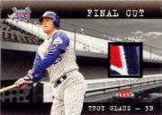 2001 Fleer Genuine Final Cut #7 Troy Glaus
