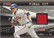 2001 Fleer Genuine Final Cut #12 Chipper Jones