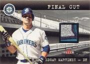 2001 Fleer Genuine Final Cut #15 Edgar Martinez SP/130