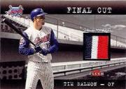 2001 Fleer Genuine Final Cut #22 Tim Salmon