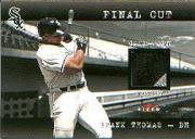 2001 Fleer Genuine Final Cut #24 Frank Thomas