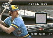 2001 Fleer Genuine Final Cut #28 Robin Yount