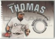 2001 Fleer Genuine Material Issue #FT Frank Thomas front image