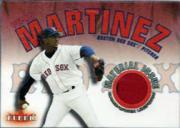 2001 Fleer Genuine Material Issue #PM1 Pedro Martinez SP/60 *