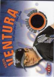 2001 Fleer Genuine Material Issue #RV Robin Ventura