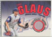 2001 Fleer Genuine Material Issue #TG1 Troy Glaus