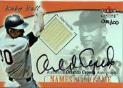 2001 Fleer Genuine Names Of The Game Autographs #2 Orlando Cepeda Bat