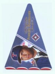 2001 Fleer Genuine Pennant Aggression #PA2 Alex Rodriguez