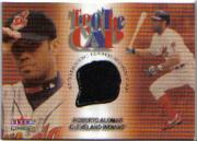 2001 Fleer Genuine Tip Of The Cap #1 Roberto Alomar