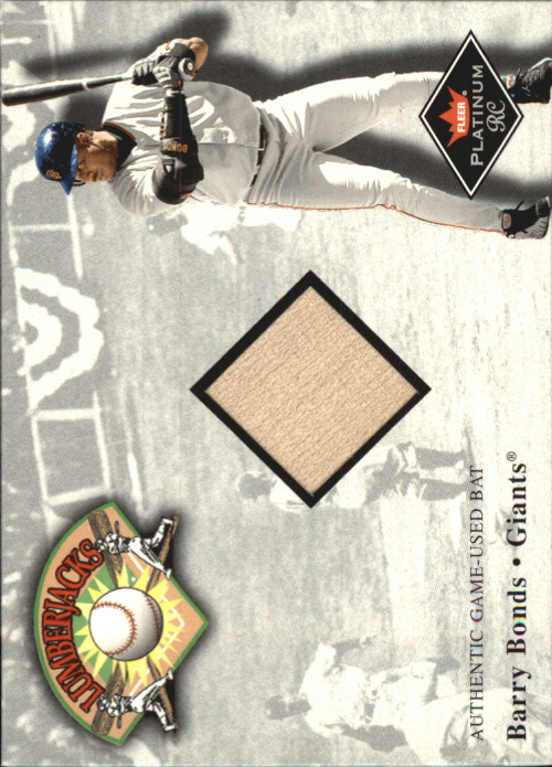 2001 Fleer Platinum Lumberjacks #5 Barry Bonds
