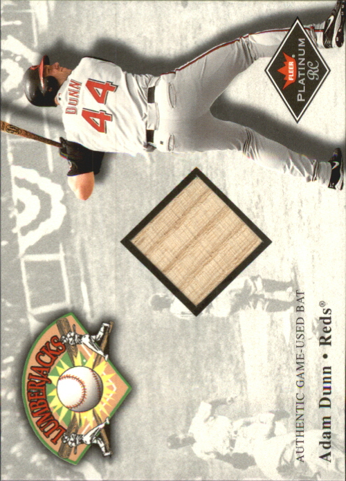 2001 Fleer Platinum Lumberjacks #8 Adam Dunn