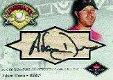 2001 Fleer Platinum Lumberjacks Autographs #8 Adam Dunn