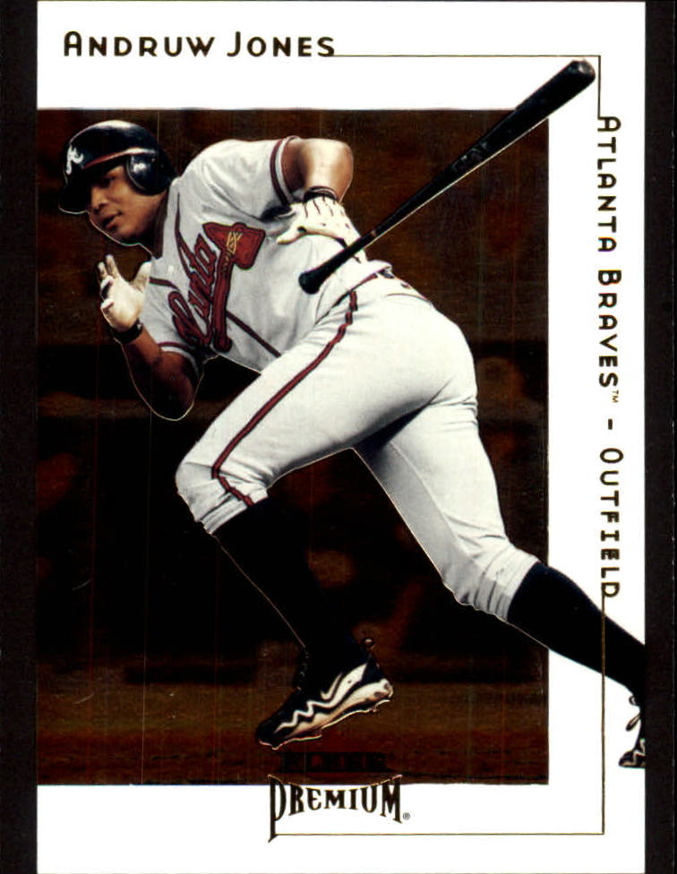 2001 Fleer Premium #38 Andruw Jones