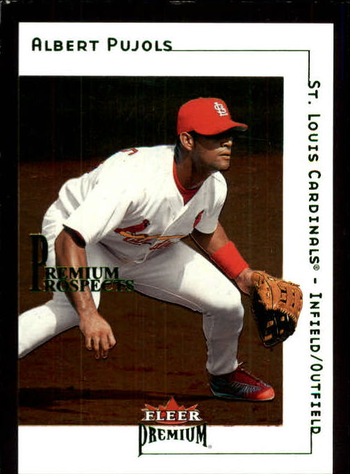 2001 Fleer Premium #233 Albert Pujols RC