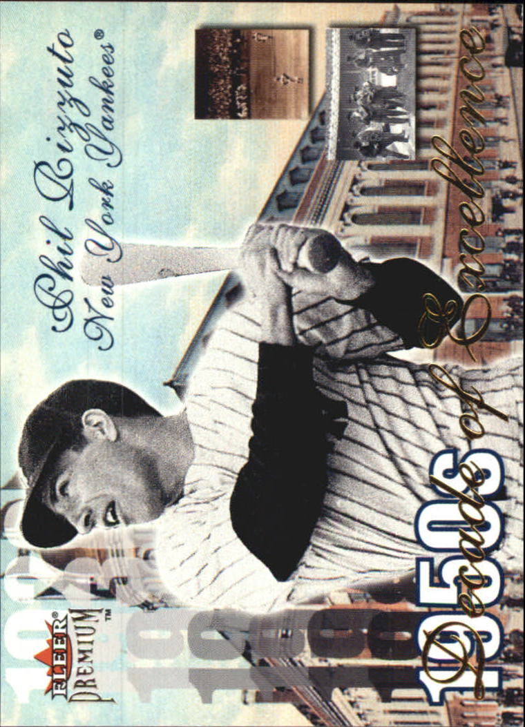 2001 Fleer Premium Decades of Excellence #DE15 Phil Rizzuto