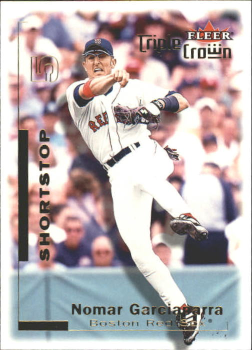 2001 Fleer Triple Crown #5 Nomar Garciaparra