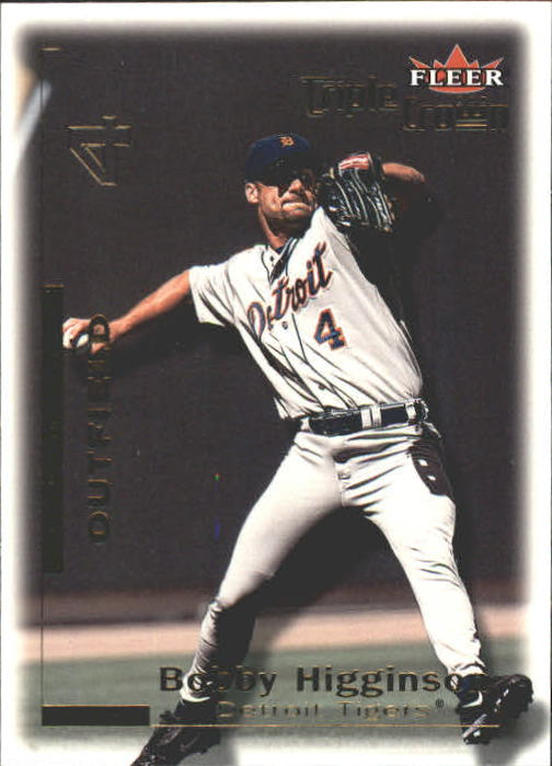 2001 Fleer Triple Crown #14 Bobby Higginson