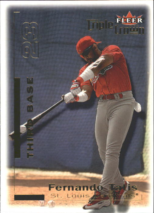 2001 Fleer Triple Crown #18 Fernando Tatis