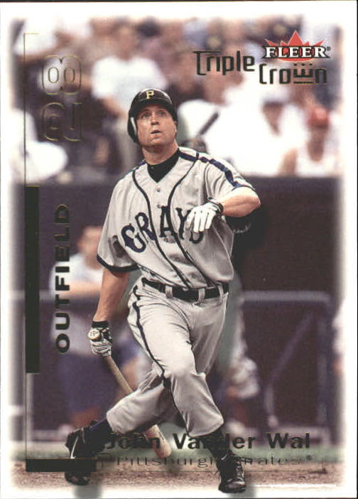 2001 Fleer Triple Crown #19 John VanderWal