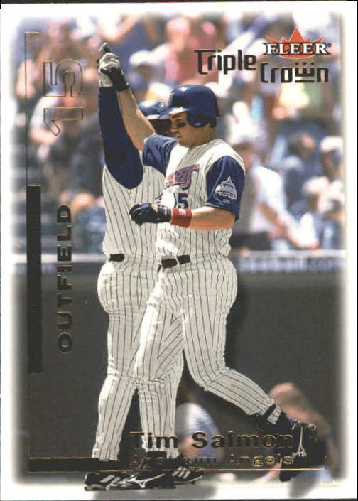 2001 Fleer Triple Crown #25 Tim Salmon
