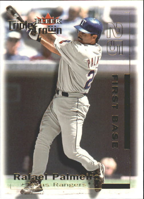 2001 Fleer Triple Crown #31 Rafael Palmeiro