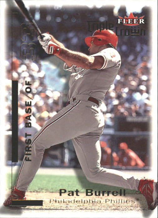 2001 Fleer Triple Crown #40 Pat Burrell