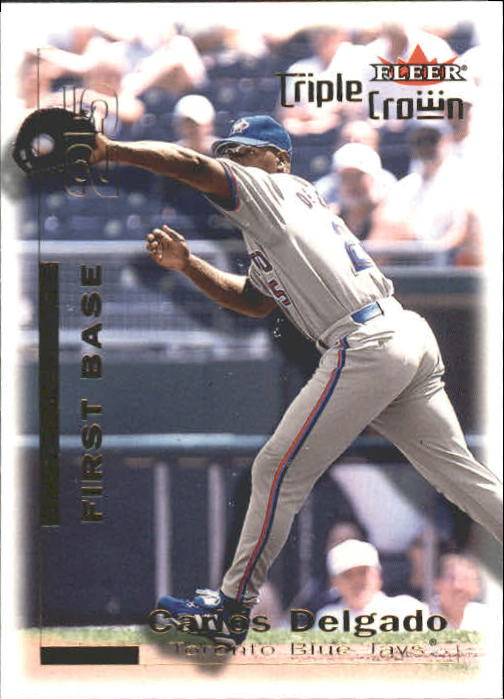 2001 Fleer Triple Crown #59 Carlos Delgado