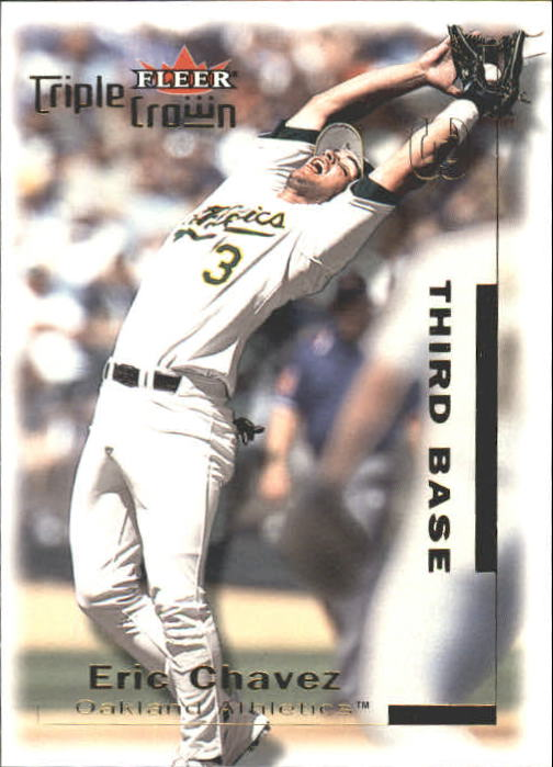 2001 Fleer Triple Crown #70 Eric Chavez