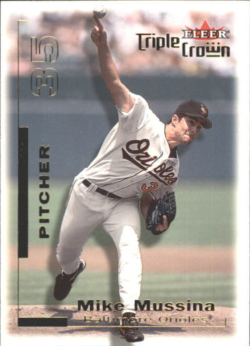 2001 Fleer Triple Crown #174 Mike Mussina